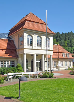 Wellnessoase: Kurbad in Bad Grund im Harz
