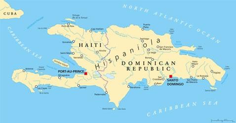 Dominikanische Republik der lateinischen Datierung